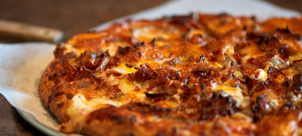 Bacon Cheese Pizza