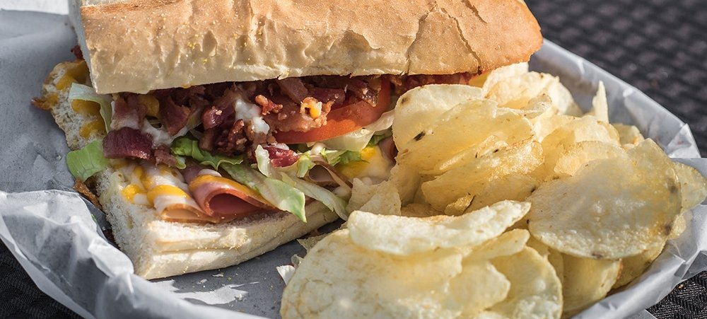 Club Hoagie and Chips
