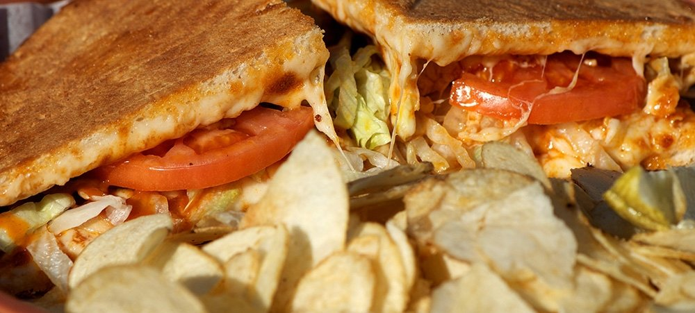 Buffalo Chicken Wedgie Sandwhich