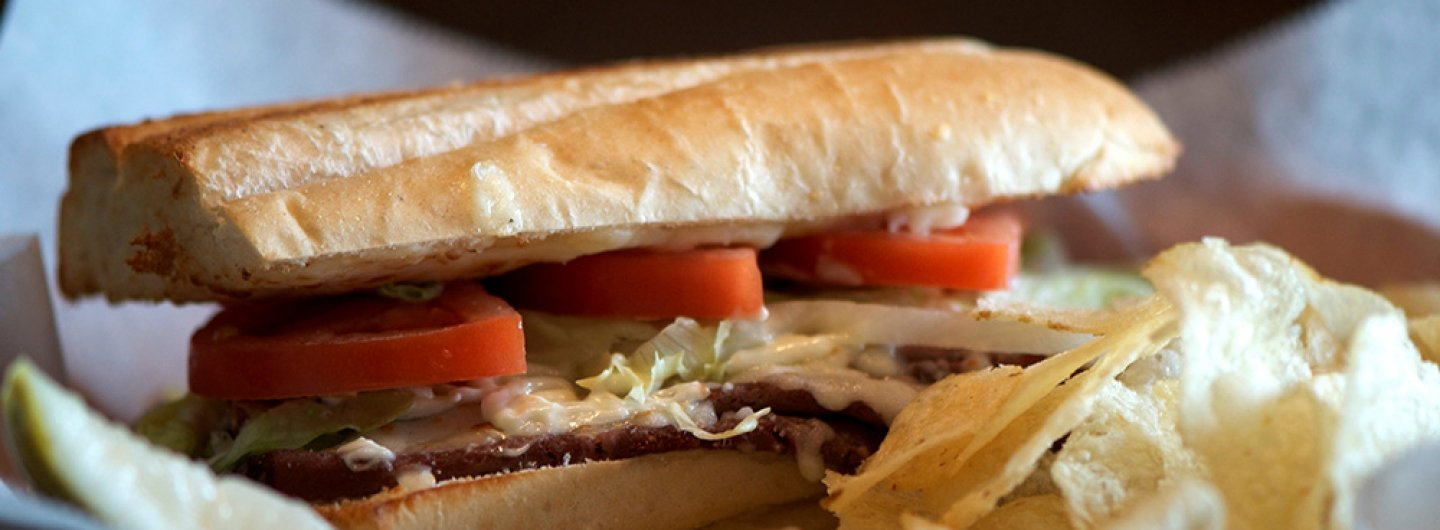 Roast Beef and Cheddar Hoagie